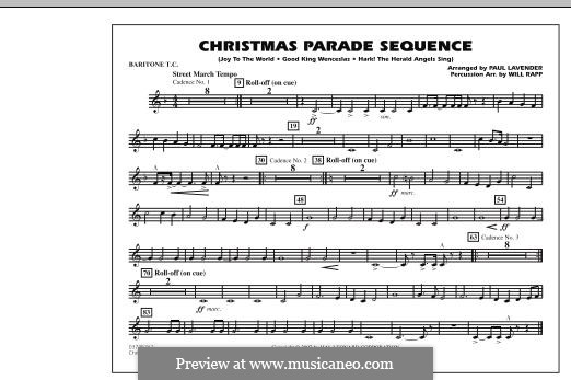 Christmas Parade Sequence: Baritone T.C. part by folklore
