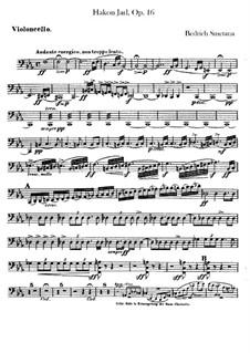 Hakon Jarl, B.118 T.82 Op.16: Cellosstimme by Bedřich Smetana