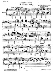 Sechs Klavierstücke, Op.7: Sechs Klavierstücke by Josef Suk
