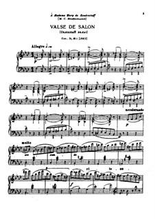 Sechs Stücke für Klavier, TH 143 Op.51: Vollsammlung by Pjotr Tschaikowski
