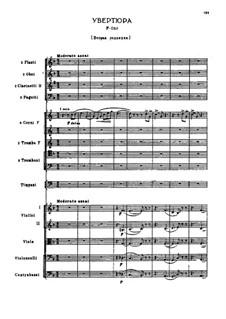 Oüverture in F-Dur, TH 39: Zweite Fassung by Pjotr Tschaikowski