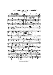 Erlafsee, D.586 Op.8 No.3: Klavierauszug mit Singstimmen by Franz Schubert