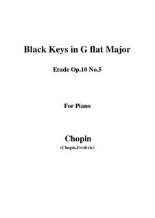 Nr.5 in Ges-Dur: Für Klavier by Frédéric Chopin