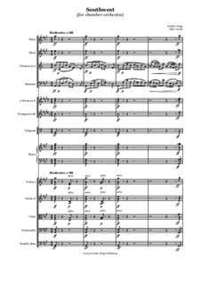 Southwest (for chamber orchestra): Southwest (for chamber orchestra) by Jordan Grigg