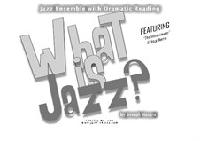 What is Jazz?: What is Jazz? by Joseph Hasper