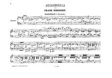 Sinfonie Nr.9 in C-Dur 'Die Grosse', D.944: Bearbeitung für zwei Klaviere, achthändig – Klavierstimme I by Franz Schubert