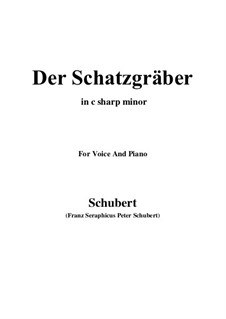Der Schatzgräber, D.256: C sharp minor by Franz Schubert