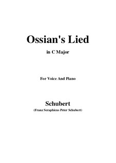 Ossians Lied nach dem Falle Nathos', D.278: C-Dur by Franz Schubert