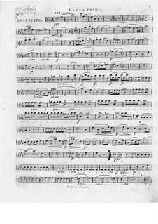 Zwei Streichquintette, Op.33: Quintett Nr.1 – Bratschenstimme I by Louis Spohr