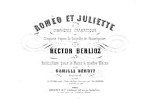 Romeo und Julie, H.79 Op.17: Für Klavier, vierhändig by Hector Berlioz
