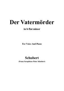Der Vatermörder, D.10: B flat minor by Franz Schubert