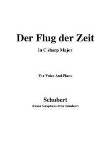 Der Flug der Zeit, D.515 Op.7 No.2: C sharp Major by Franz Schubert