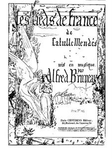 Les lieds de France: Vollsammlung by Alfred Bruneau