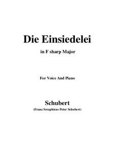 Die Einsiedelei, D.393: F sharp Major by Franz Schubert