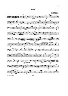 Vollständiger Konzert: Version für Klavier und Streichquintett – Kontrabassstimme by Frédéric Chopin