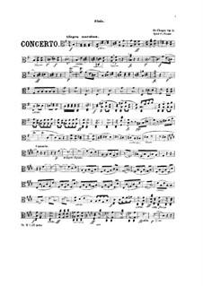 Vollständiger Konzert: Version für Klavier und Streichquintett – Bratschenstimme by Frédéric Chopin