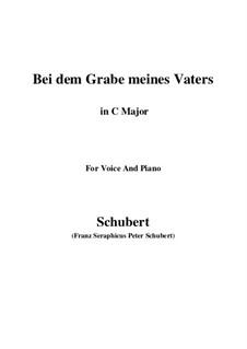 Bei dem Grame Meines Vaters, D.496: C-Dur by Franz Schubert