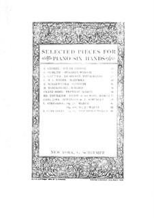 Nr.4 Ständchen: Für Klavier, sechshändig by Franz Schubert