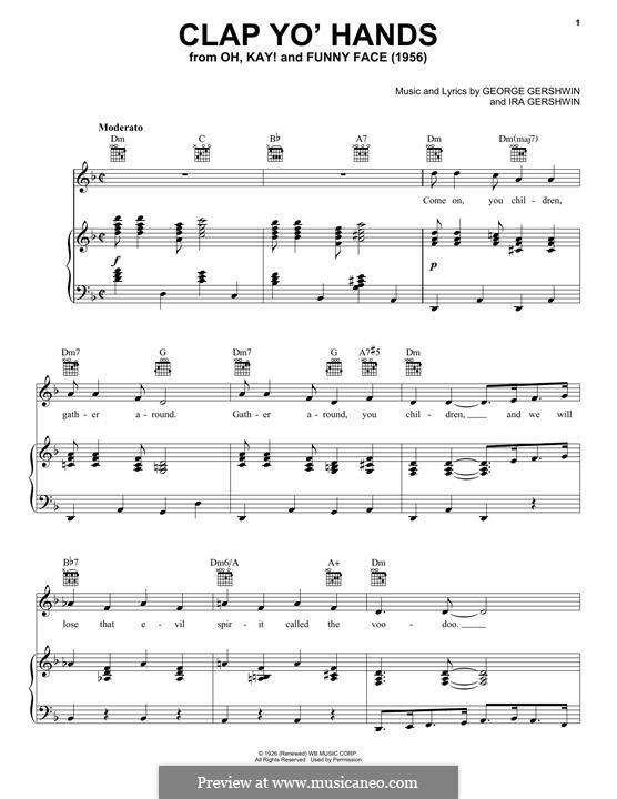Clap Yo' Hands: Clap Yo' Hands by George Gershwin