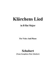 Die Liebe, D.210: Für Stimme und Klavier (B Flat Major) by Franz Schubert