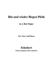 Hin und wieder fliegen Pfeile: A flat Major by Franz Schubert