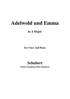 Adelwold und Emma, D.211: A-Dur by Franz Schubert