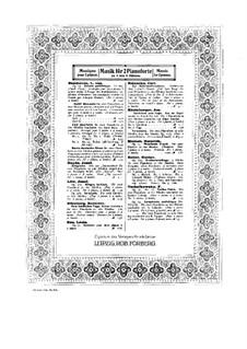 Zwölf Menuette: Version für zwei Klaviere, vierhändig – Klavierstimme II by Ludwig van Beethoven
