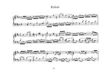 Kleines Präludium in D-Dur, BWV 925: Für Klavier by Johann Sebastian Bach
