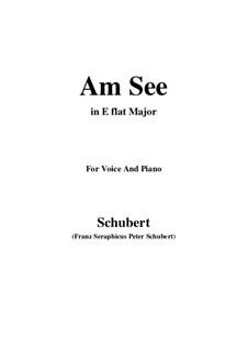 Am See, D.746: E flat Major by Franz Schubert