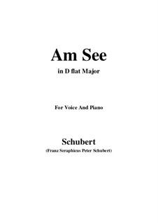 Am See, D.746: D flat Major by Franz Schubert