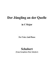 Der Jüngling an der Quelle, D.300: C-Dur by Franz Schubert