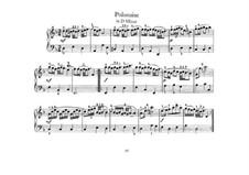 Nr.24 Polonäse in d-moll, BWV Anh.128: Für Klavier by Johann Sebastian Bach