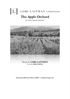 The Apple Orchard: Mezzo-soprano and piano version (priced for 2 copies) by Lori Laitman