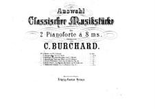 Konzert für Violine, Cello, Klavier und Orchester, Op.56: Rondo alla polacca, für zwei Klaviere, achthändig – Klavierstimme I by Ludwig van Beethoven