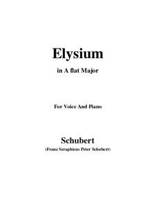 Elysium, D.584: A flat Major by Franz Schubert