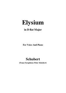 Elysium, D.584: D flat Major by Franz Schubert