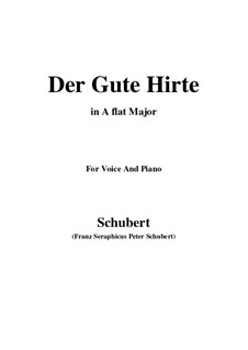 Der gute Hirt, D.449: A flat Major by Franz Schubert