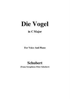 Die Vögel, D.691: C-Dur by Franz Schubert