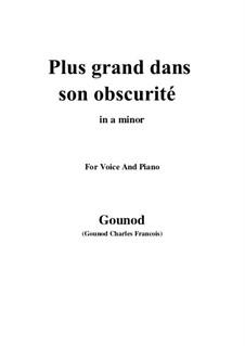 Die Königin von Saba: Plus grand dans son obscurité by Charles Gounod