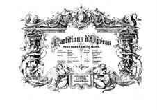 Vollständige Oper: Version für Klavier, vierhändig by Ludwig van Beethoven