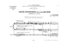 Orgelwerke. Zweite Sammlung: Buch VI by Jules Grison