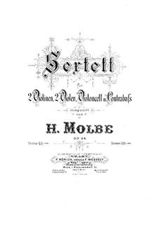 Streichsextett, Op.64: Violastimme I by Heinrich Molbe