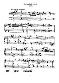 Sonate für Klavier Nr.58 in C-Dur, Hob.XVI/48: Sonate für Klavier Nr.58 in C-Dur by Joseph Haydn