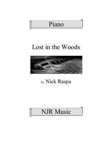 Lost in the Woods: For elementary piano by Nick Raspa
