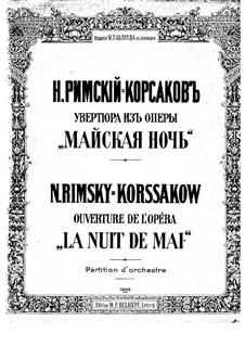 Mainacht: Ouvertüre by Nikolai Rimsky-Korsakov