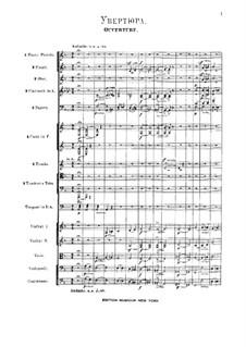 Vollständiger Oper: Vollpartitur by Alexander Porfiryevich Borodin