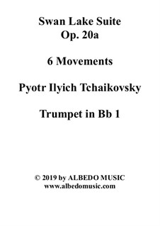 6 Movements and 8 Movements: Trompete in B 1 (transponierte Stimme) by Pjotr Tschaikowski