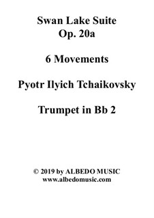 6 Movements and 8 Movements: Trompete in B 2 (transponierte Stimme) by Pjotr Tschaikowski