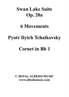 Version A: Cornet in Bb 1 (Transposed Part) by Pjotr Tschaikowski