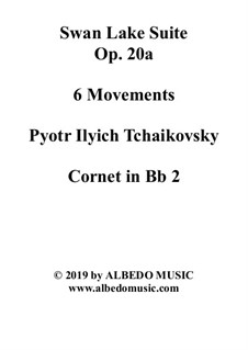 Version A: Cornet in Bb 2 (Transposed Part) by Pjotr Tschaikowski